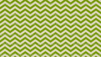 Green Chevron Pattern
