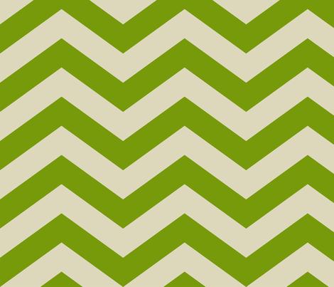 Green Chevron Pattern fabric by avanrossum on Spoonflower - custom fabric