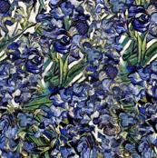 Van Gogh's Purple Irises / Violet Flowers (smaller dpi)