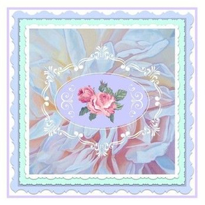 Filigree Cameo Patchwork