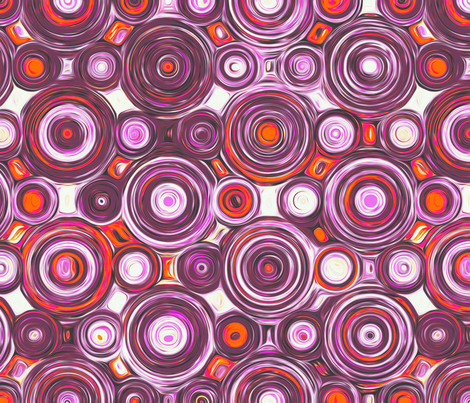 Precession - sangria fabric by ormolu on Spoonflower - custom fabric