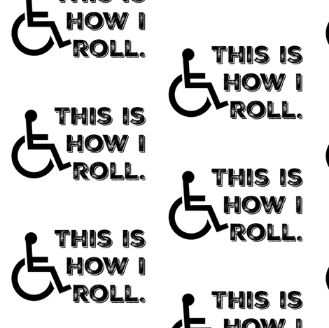 This Is How I Roll fabric by sunshineandspoons on Spoonflower - custom fabric
