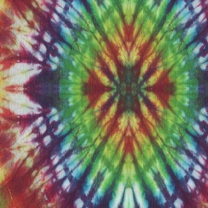 Rainbow Star Tie Dye