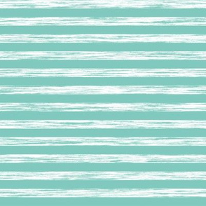 Stripes Grunge Pencil Charcoal  Mint Green