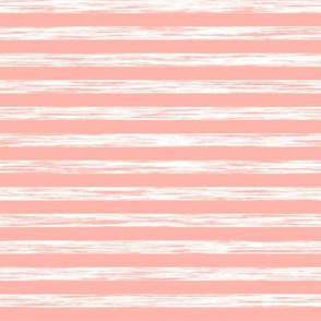 Stripes Grunge Pencil Charcoal Peach Pink