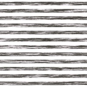 Stripes Grunge Pencil Charcoal  Black & White