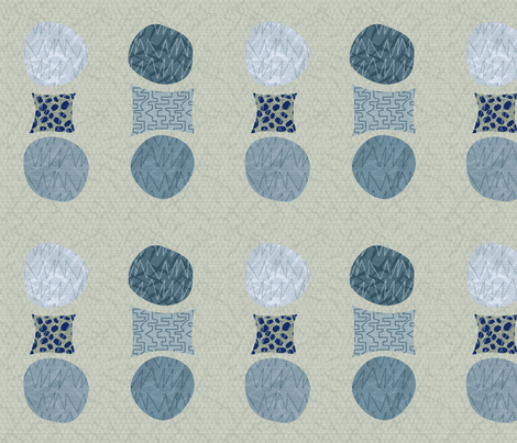 Odd dots cartilage fabric by wren_leyland on Spoonflower - custom fabric