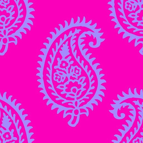 PAISLEY POP - PINK/LILAC