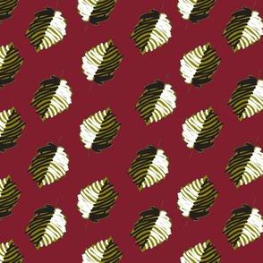 kalamkari-leaves-maroon-green