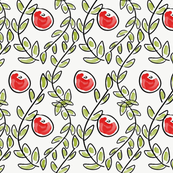 Christmas Leaf & Berry Design