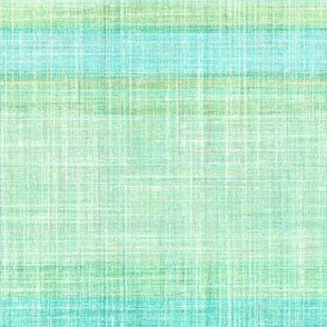 Faux linen aqua Beach stripe horizontal