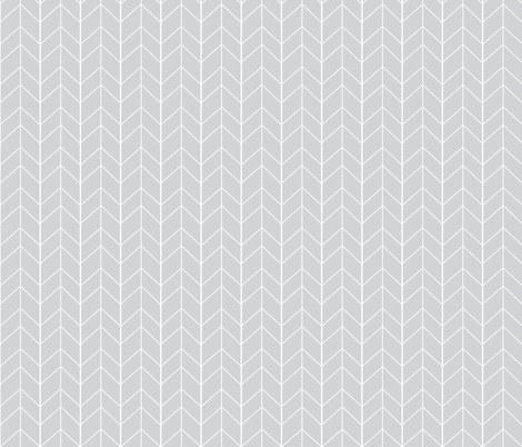 Small Arrow Chevron - French Gray  fabric by tycdesignco on Spoonflower - custom fabric