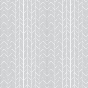 Small Arrow Chevron - French Gray