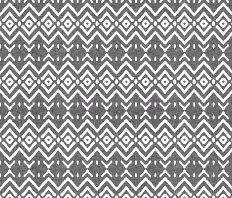 geometric_diamond_linen fabric by holli_zollinger on Spoonflower - custom fabric