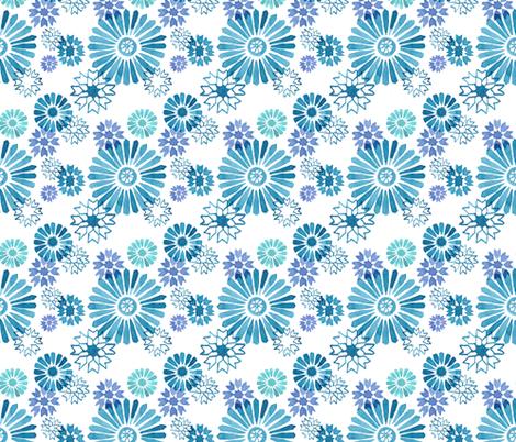 Morroccan Marine Mash Up fabric by jenny_wilkinson on Spoonflower - custom fabric