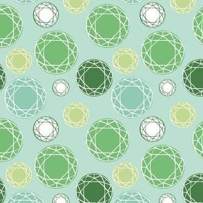 Green Gem Stone