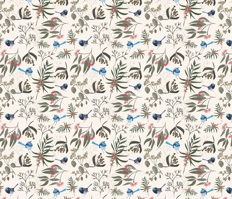 Australia fabric by melarmstrongdesign on Spoonflower - custom fabric