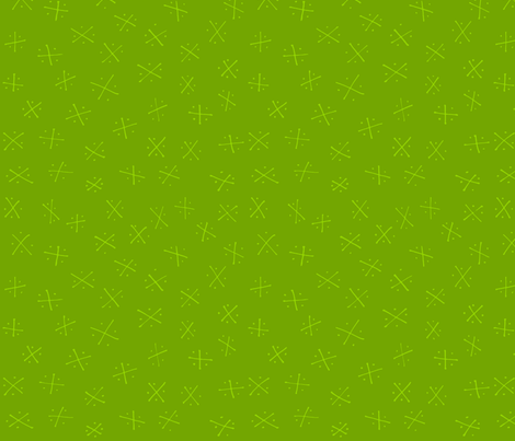 Quadrants: Grass fabric by laurelpoppyandpine on Spoonflower - custom fabric