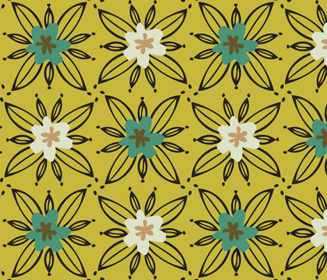 Garden_Plot_Spring fabric by designertre on Spoonflower - custom fabric