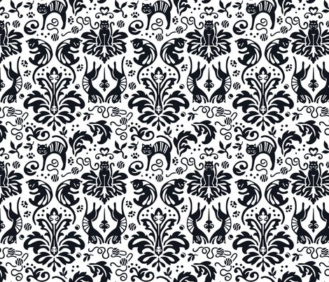 Raliceio-damask-cats-reverse-block-black_shop_preview