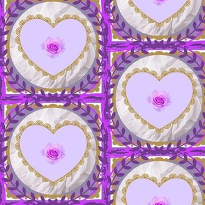 Violet Cupcake Chic Quilt