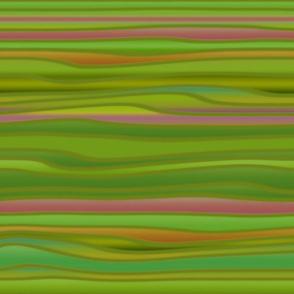 Nouveau Stripes Watercolour
