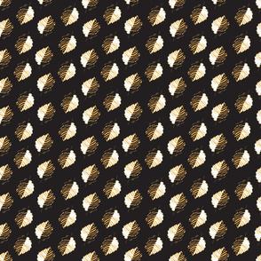 kalamkari-leaves-black-yellow