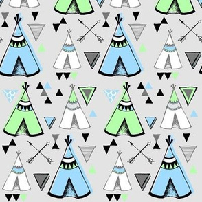 Teepee Town in Sea