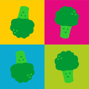 Popart Broccoli