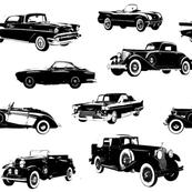 "Vintage Cars - Large (4"")"