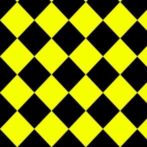 Diamonds- Yellow and Black