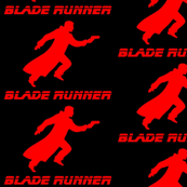 blade runner red black