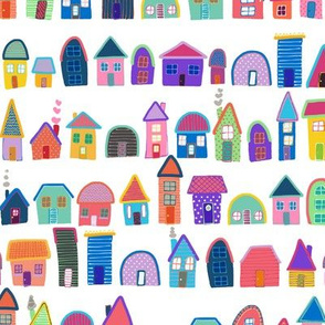Neighbors (Illustrated Houses)
