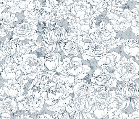 Flowers-_grunge_duck_egg_blue_shop_preview