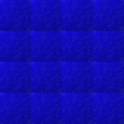 Blue in a Textured Quilted Repeat fabric by anniedeb on Spoonflower - custom fabric