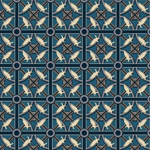 Eagle or Raven House Pattern - Small