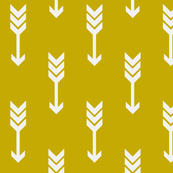 Mustard Yellow Arrows