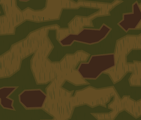 German Sumpfmuster Camo Small Rain Drops fabric by ricraynor on Spoonflower - custom fabric
