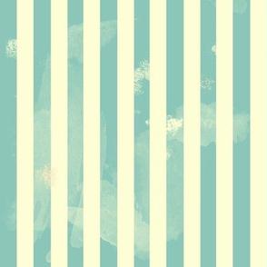Retro Stripes in Green