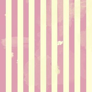 Retro Stripes in Pink
