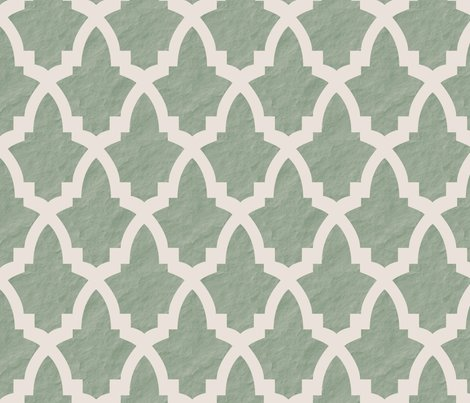 Rsimple_morrocan_tile_green_tile_on_cream_with_texture_shop_preview