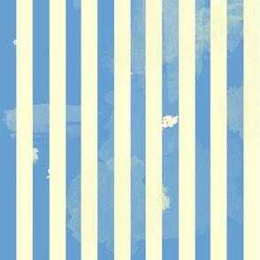 Retro Stripes in Blue