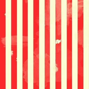 Retro Stripes in Red