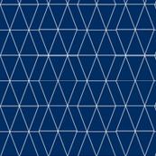 Geo Triangles- Navy