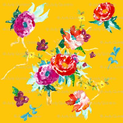 Tropical Paradise - Yellow