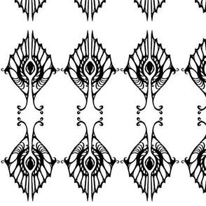 Brush Pen Design 2 (Shell in Black)