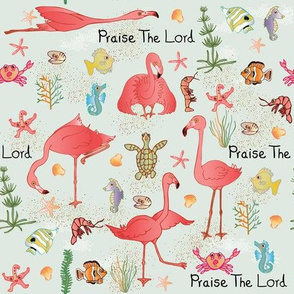 Flamingo Praise green