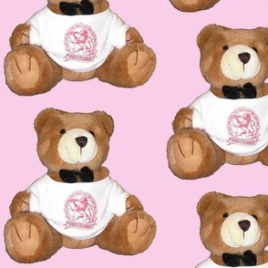 bear 5  - in pink