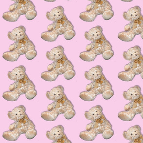 bear 9  - in pink