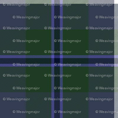 Douglas tartan, dark colors